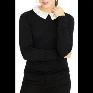 J. Crew Black Tippi Sweater